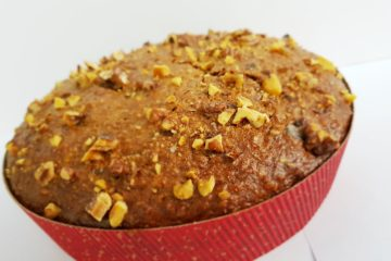 Banana Walnut Multifibre Cake