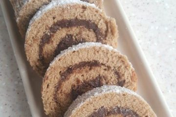 Chocolate Coffee Roulade