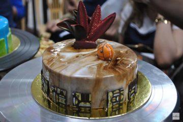 Marbled Coffee Cheesecake
