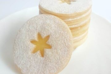 Lemon Linzer Cookies