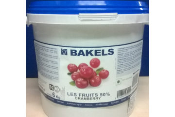Bakels Les Fruits 50% Cranberry