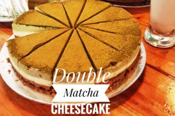 Double Matcha Cheesecake