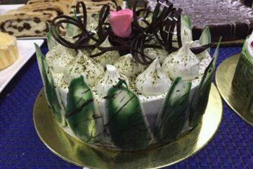 Kiwi Matcha Cake